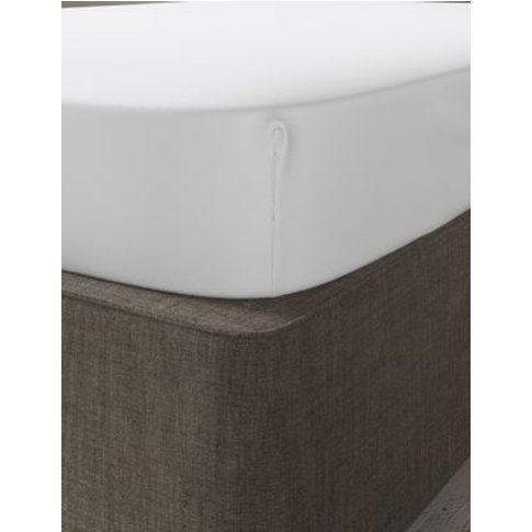 M&S Dreamskin&Reg; Pure Cotton Fitted Sheet - Dbl - ...