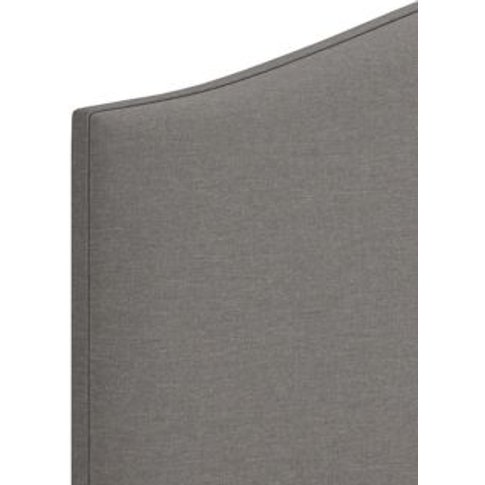 M&S Classic Headboard - 4ft - Light Grey Mix, Light ...