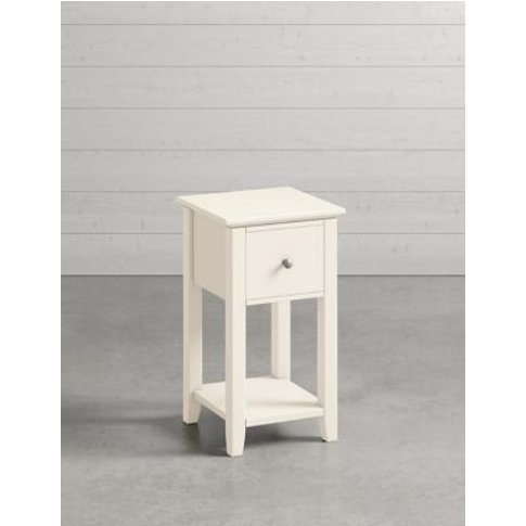 M&S Set Of 2 Hastings Ivory Small Bedside Tables - 1...