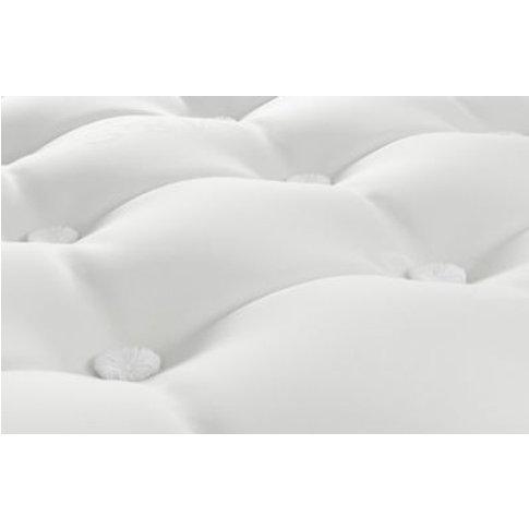 M&S Pillowtop Cashmere & Silk 2250 Pocket Sprung Medium Mattress - 3ft - White, White