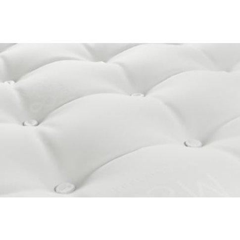 M&S Essential 325 Open Coil Medium Pillowtop Mattres...