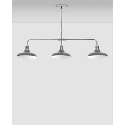 M&S Lincoln Gallery Bar Ceiling Light - 1size - Grey...