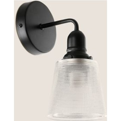 M&S Lexington Wall Light - 1size - Black, Black