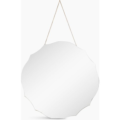 Rounded Vintage Hanging Mirror