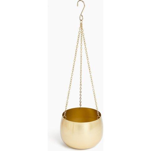 Hanging Gold Planter
