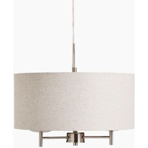 M&S Fleur Pendant Light - 1size - Grey Mix, Grey Mix