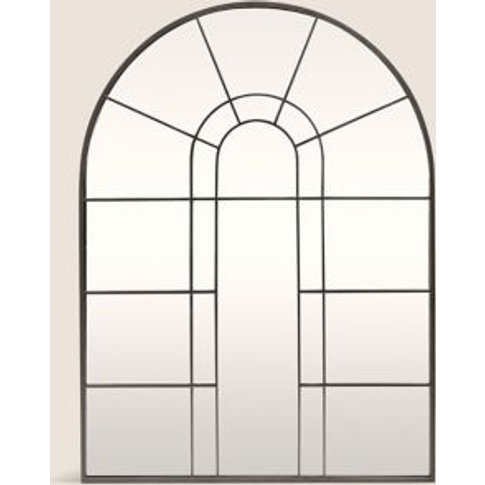 M&S Unisex Arch Window Mirror - 1size - Black Mix, B...