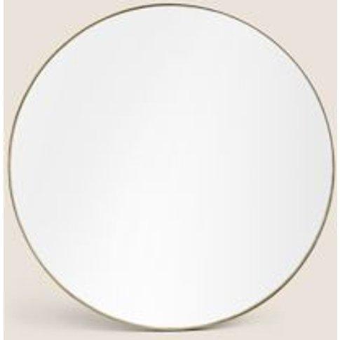 M&S Milan Small Round Mirror - 1size - Silver, Silver,Antique Brass,Black