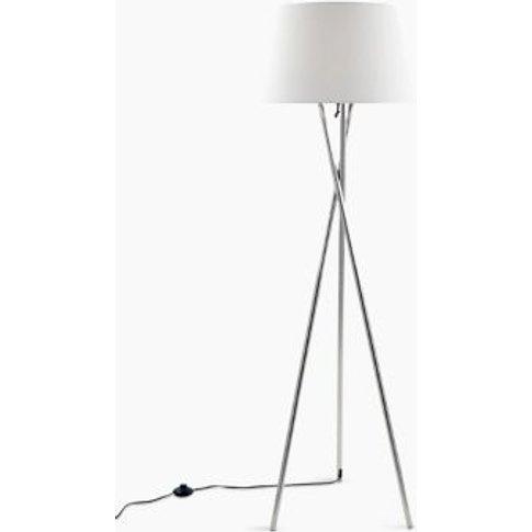 M&S Alexa Tripod Floor Lamp - 1size - Black, Black