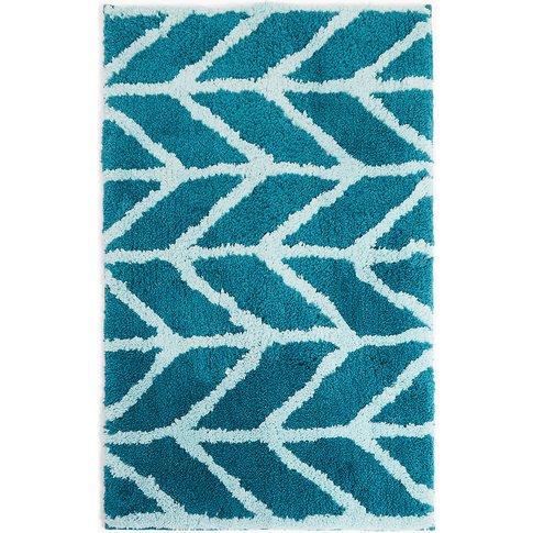 Quick Dry Super Soft Modern Geometric Bath mat