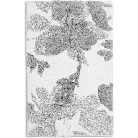 Tanya Cotton Floral Bath Mat