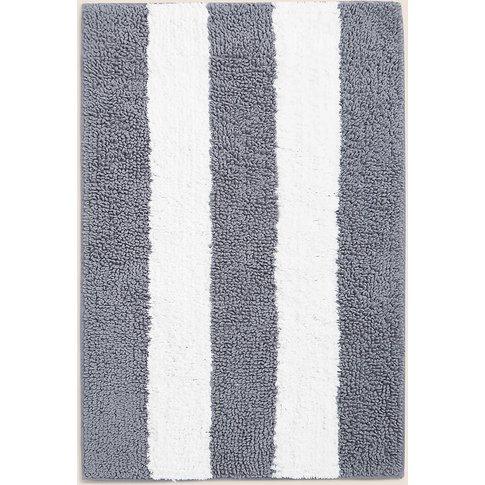 Wide Stripe Bath Mat