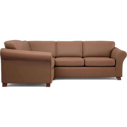 Abbey Firm Small Corner Sofa (Left-Hand)
