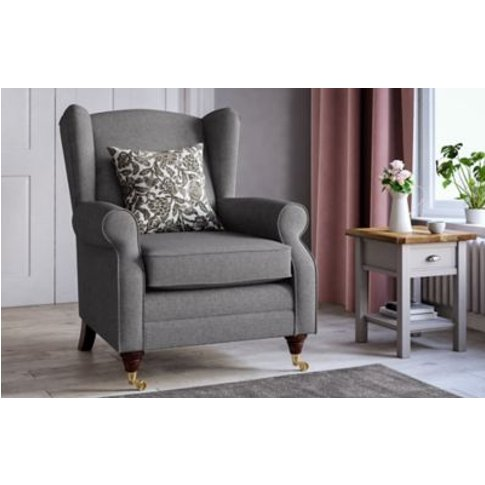 M&S Highland Plain Armchair - Chr - Chestnut, Chestnut,Dark Brown