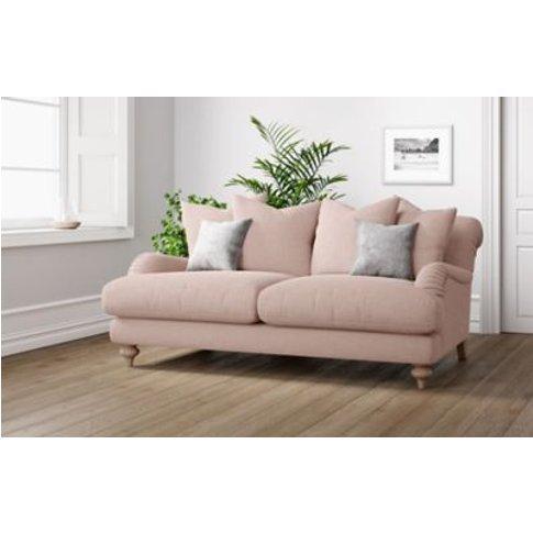M&S Isabelle Medium Sofa - Dusky Pink, Dusky Pink,Da...