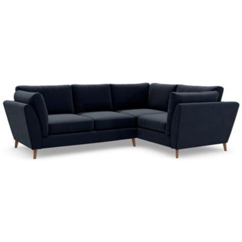 M&S Finch Small Corner Sofa (Right-Hand) - Srcnr - Duck Egg, Duck Egg,Charcoal,Navy,Natural,Dark Ochre,Peacock,Emerald,Grey,Steel,Dusky Pink,Ochre