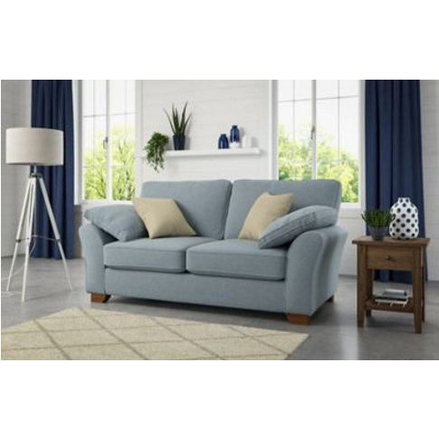 M&S Camborne Large Sofa - Silver, Silver,Steel,Natural,Charcoal