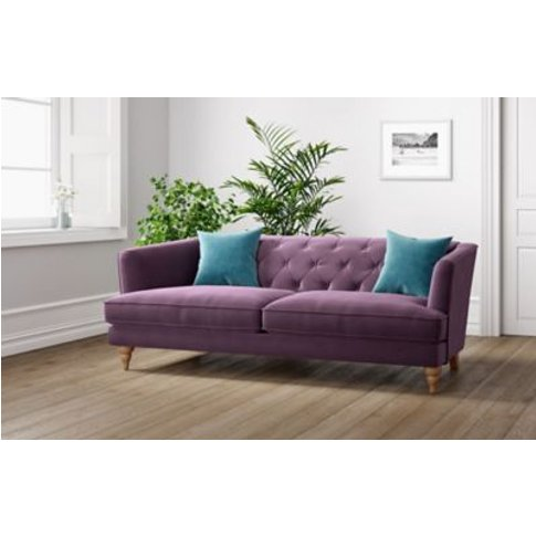 M&S Sophia Large Sofa - Dark Grey, Dark Grey,Natural...