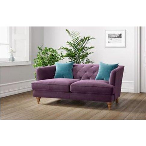 M&S Sophia Small Sofa - Soft Teal, Soft Teal,Charcoa...