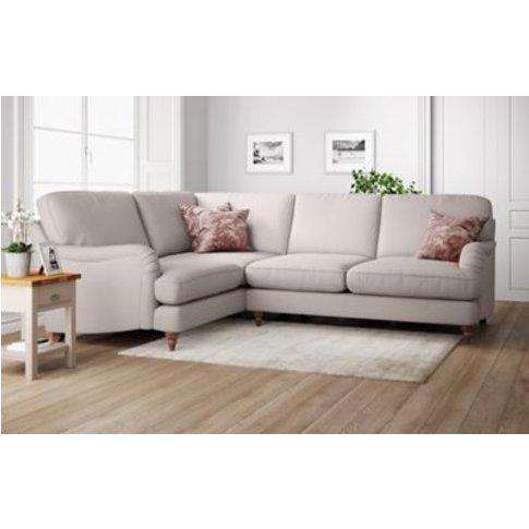 M&S Rochester Small Corner Sofa (Left-Hand) - Slcnr - Chestnut, Chestnut,Dark Brown