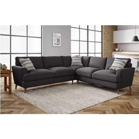 M&S Copenhagen Corner Sofa - Cnr - Navy, Navy,Steel,...