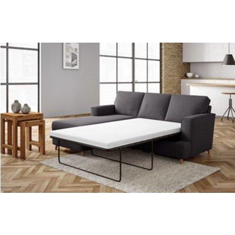 M&S Copenhagen Corner Chaise Storage Sofa Bed (Left-...