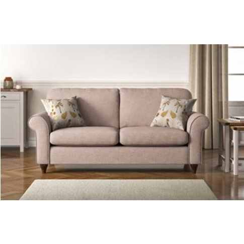 M&S Olivia Large Sofa - Grey, Grey,Denim,Natural,Blu...