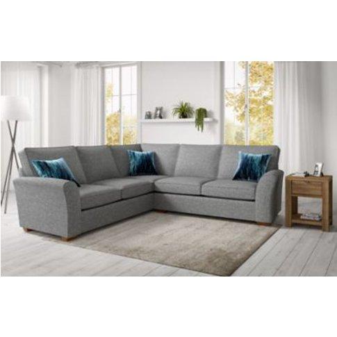 M&S Lincoln Corner Sofa - Cnr - Duck Egg, Duck Egg,B...