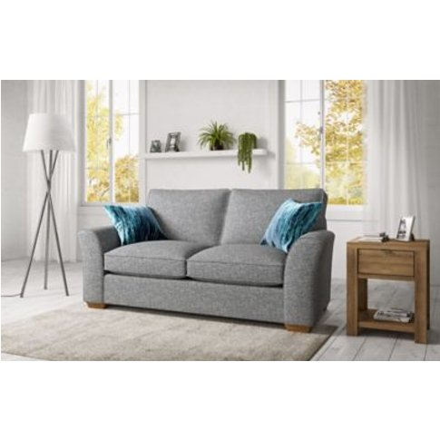 M&S Lincoln Medium Sofa - Grey, Grey,Linen,Duck Egg,...