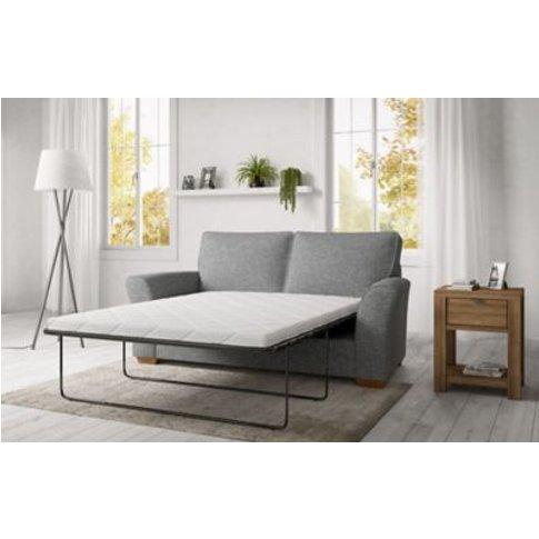 M&S Lincoln Medium Sofa Bed (Sprung Mattress) - Msbe...