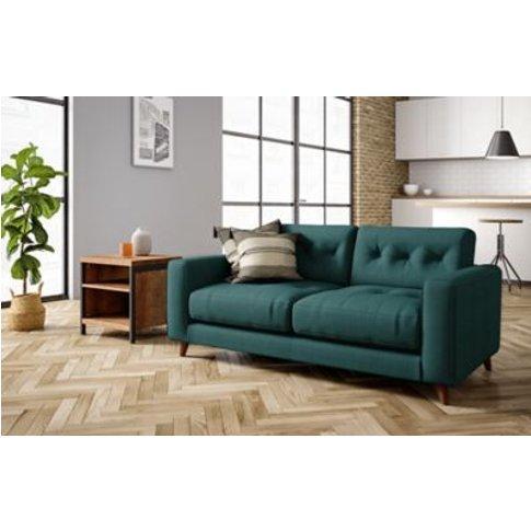 M&S Henley Medium Sofa - Dark Brown, Dark Brown,Ches...