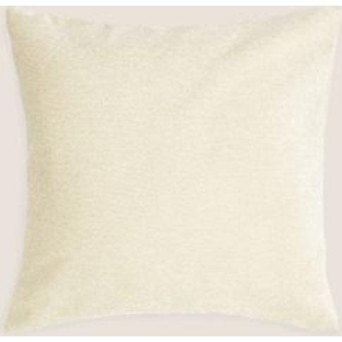 M&S Chenille Cushion - 1size - Antique Gold, Antique...