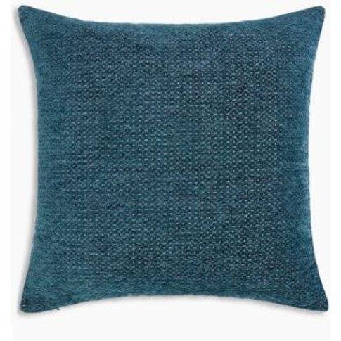 M&S Jacquard Cushion - 1size - Ochre, Ochre,Emerald,...