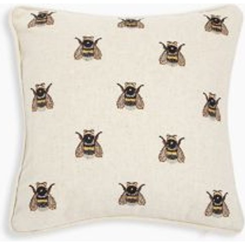 M&S Small Bee Cushion - 1size - Natural Mix, Natural...