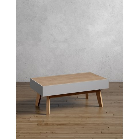 Jones Grey Storage Coffee Table