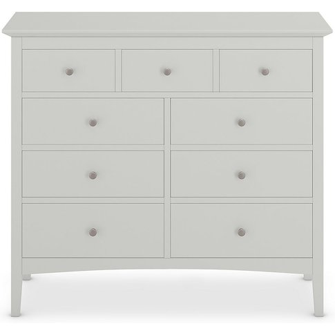 Hastings Grey 9 Drawer Chest