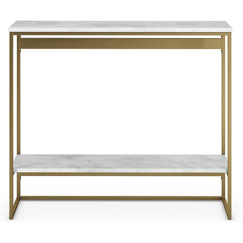 Farley Marble Square Console Table