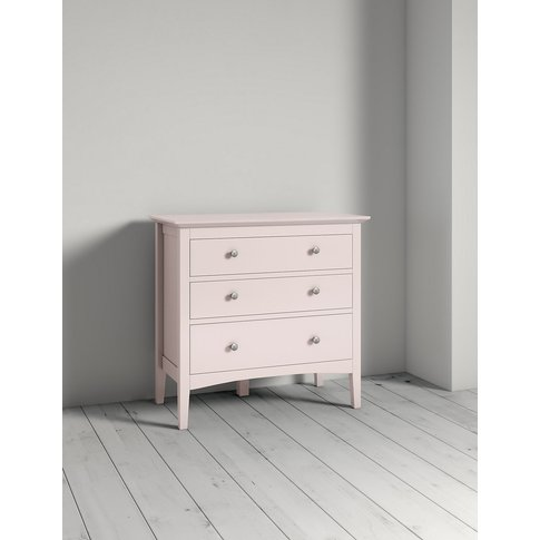 Hastings Powder Pink 3 Drawer Chest