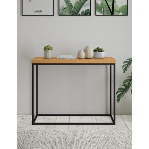 M&S Miller Console Table - 1size - Wood, Wood