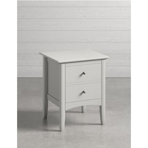 M&S Hastings Grey Bedside Table - 1size, Grey