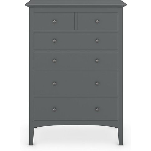Hastings Grey 6 Drawer Chest