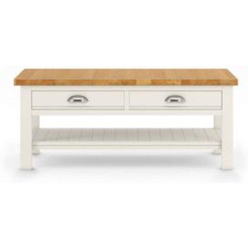 M&S Padstow Storage Coffee Table - 1size - Dark Blue...