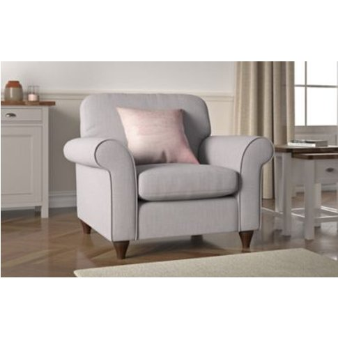 M&S Olivia Express Armchair - Chr - Chocolate, Choco...