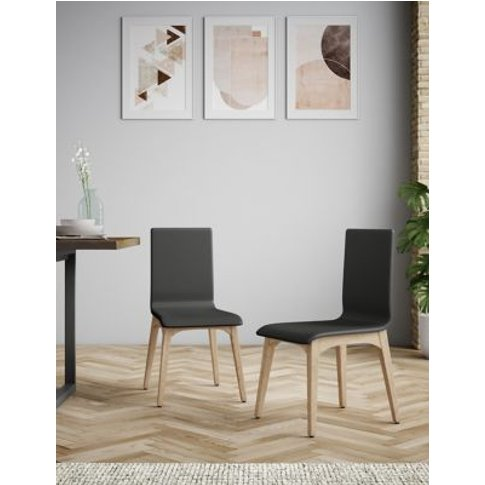 M&S Set Of 2 Alderley Dining Chairs - 1size - Charco...