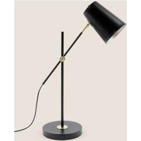 M&S Milan Table Lamp - 1size - Black Mix, Black Mix