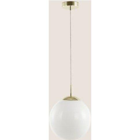 M&S Opal Single Drop Pendant Ceiling Light - 1size -...