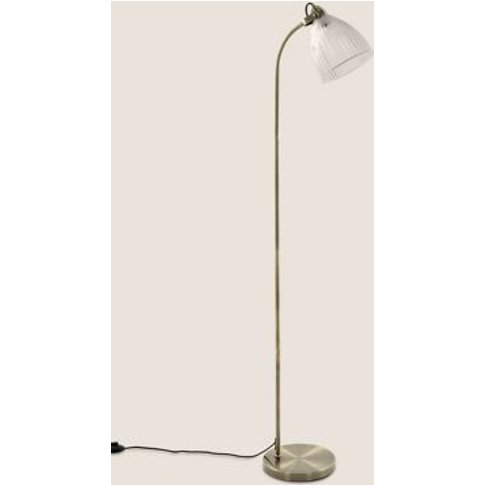 M&S Florence Floor Lamp - 1size - Antique Brass, Ant...