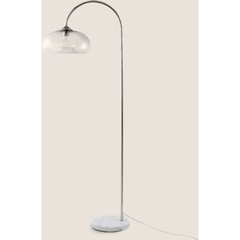 M&S Olsen Floor Lamp - 1size - Silver, Silver