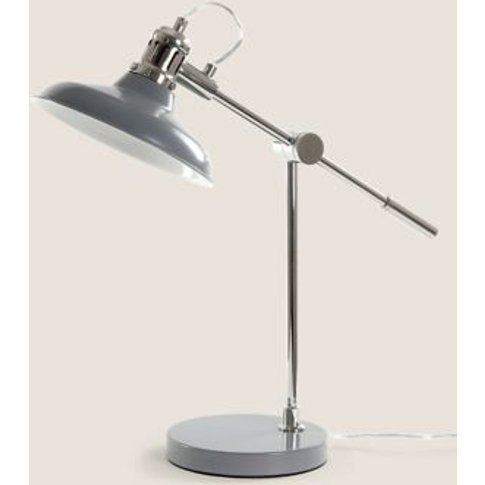 M&S New Lincoln Table Lamp - 1size - Grey, Grey,Cream