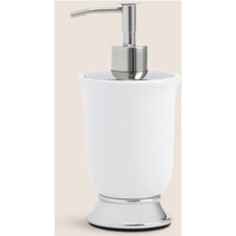 M&S Tulip Soap Dispenser - 1size - White, White